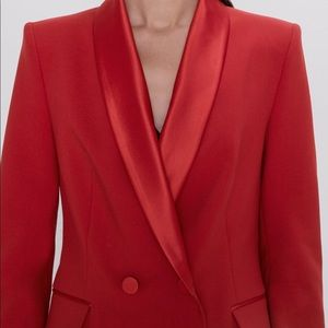 Zara 19' Double Breasted Satin Blazer XL 7906/783